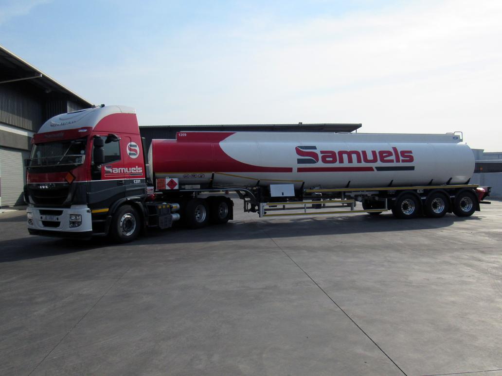 About Samuels Group - Samuels Oil tanker - Cornubia